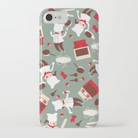 chef iPhone & iPod Cases featuring  Chef pattern by Maria Jose Da Luz
