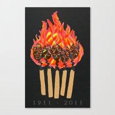 ∆Shirtwaist Fire Canvas Print