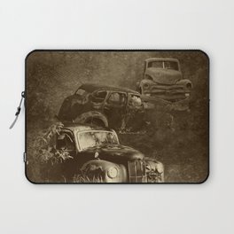 Cars in the jungle Laptop Sleeve