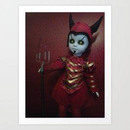 Mephistopheles/Living Dead Doll Art Print