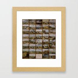 "Jan van Kessel de Oude ""The four parts of the world"" Framed Art Print"