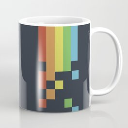 1980s Colorful Vintage Bitmap Pixel Coffee Mug