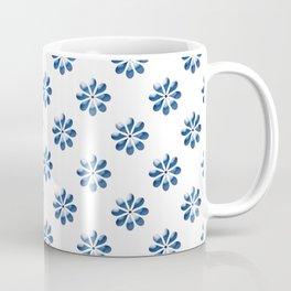 Blue petal Coffee Mug