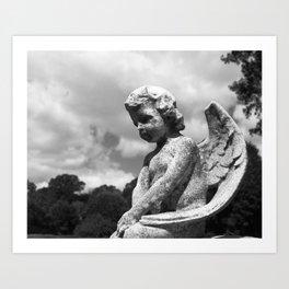 Angel of Rest Art Print
