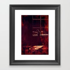 The heat is on Framed Art Print