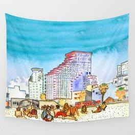 geula beach, tel aviv Wall Tapestry