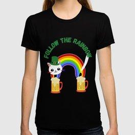 Follow the Rainbow!!! St Patrick Day T-shirt