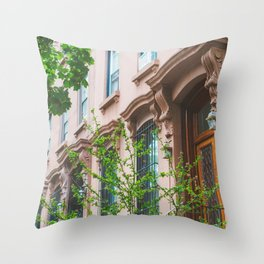 Brooklyn Summer Throw Pillow