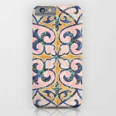 Blue Oriental Tile 01 iPhone 6s Slim Case