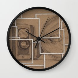 A Picture Is Worth... Wall Clock