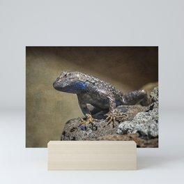 Who You Calling Reptilian? Mini Art Print