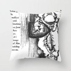 Sometimes... Throw Pillow