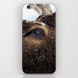 Watercolor Bull Elk Greeting iPhone Skin