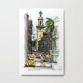 Central Havana Metal Print