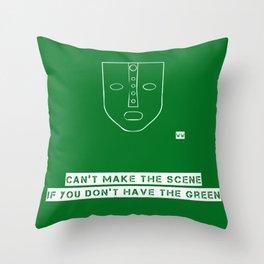 THE MASK Throw Pillow