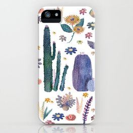 kung of the nature iPhone Case