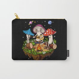 Magic Mushrooms Hippie Fungi Carry-All Pouch