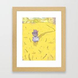 Huevember Day 3: Grain Framed Art Print