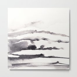 Stacked terrain Metal Print