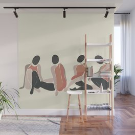 Woman Forms Wall Mural