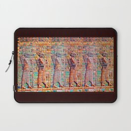 Persian Soldiers Marching Uphill to Oblivion Laptop Sleeve