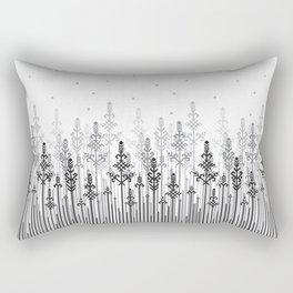 White field Rectangular Pillow