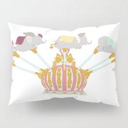 Elephant Flight Pillow Sham