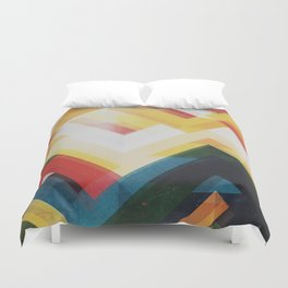 Mountain of energy Duvet Cover