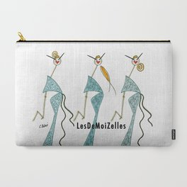 Ginette, Colette & Suzette Carry-All Pouch