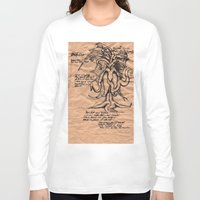lovecraft Long Sleeve T-shirts featuring Lovecraft Series: the Old Ones by Furry Turtle Creations