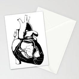 Human Heart Lub Dub Stationery Cards