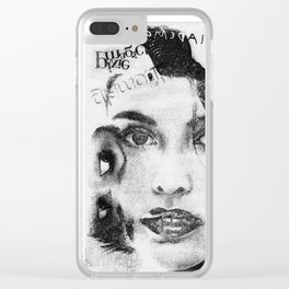 Cover Girl Clear iPhone Case