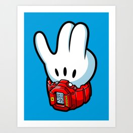 G-Shockr Art Print