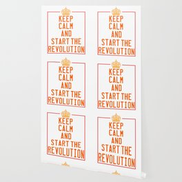 This is the awesome revolutionary Tshirt Those who make peaceful revolution Start the revolution Wallpaper