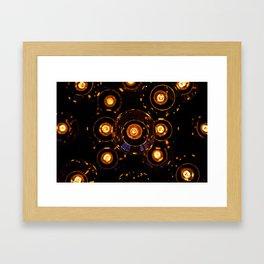 Light Fixture Framed Art Print