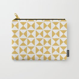 Mustard yellow Mid century Carry-All Pouch