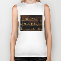 mineral Biker Tanks featuring Mineral City I by antecedence