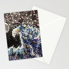 Recycled Starry Wave Stationery Cards
