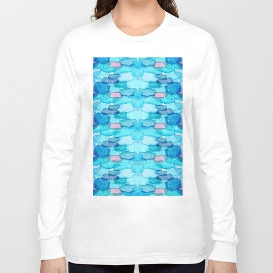 Watercolor folk  Long Sleeve T-shirt