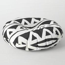 Tribal Chevron Stripes Floor Pillow