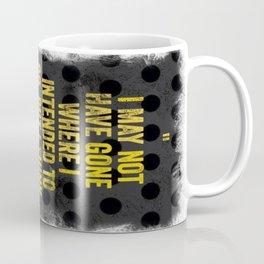 Intentions  Coffee Mug