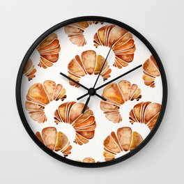 Croissant Collection Wall Clock
