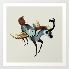 Tiny Unicorn (1 of 3) Art Print