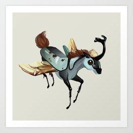 Tiny Unicorn (1 of 3) Art Print