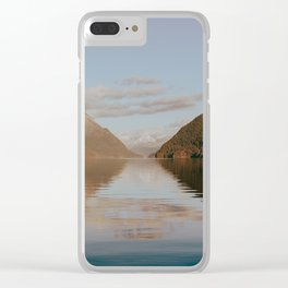 Alouette Lake Clear iPhone Case