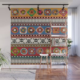 Aztec background Wall Mural