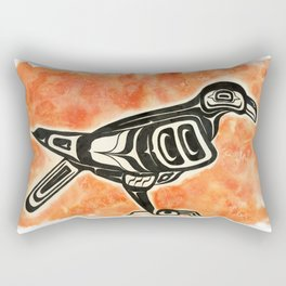 Formline Corvid I Rectangular Pillow