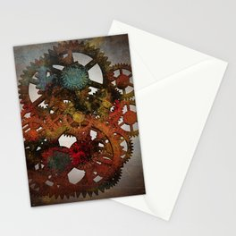 Industrial Rust Stationery Cards