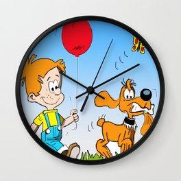 Boule and Bill Wall Clock