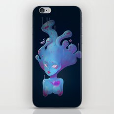 Sad Slime Girl iPhone Skin